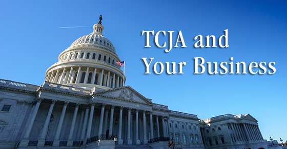 TCJA new tax bill gordon keeter business